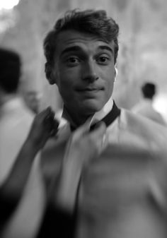 garcon-portraits: Clement Chabernaud backstage at Valentino AW12