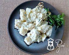 Recipe with Thermomix - ensaladas - Patata Aioli, Feta, Tapas, Cauliflower, Vegetables, Cooking, Ethnic Recipes, Yummy Yummy, 3