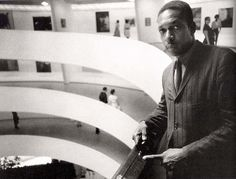 John Coltrane at the Guggenheim, by William Claxton