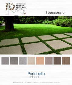 Spessorato Formato 60 x 60 cm www.portobello.com.br