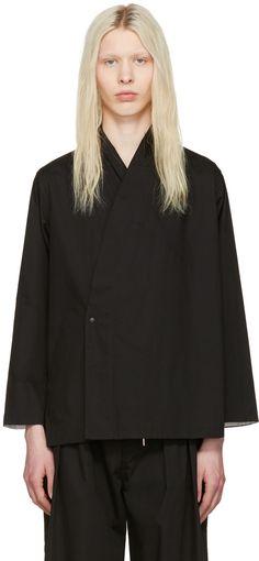 Sasquatchfabrix - Black Jinbei Shirt