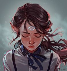 """I'm Lesly, a freelance artist from Brazil, and I like to draw girls <:"""" Fantasy Character Design, Character Creation, Character Design Inspiration, Character Concept, Character Art, Concept Art, Character Ideas, Dnd Characters, Fantasy Characters"""