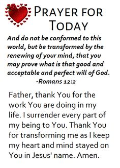 Types Of Prayer, Romans 12 2, Prayer For Today, Everybody Else, Happy New Year, Life Lessons, Poems, My Life, Prayers
