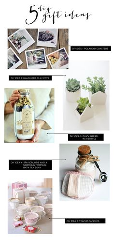 designs by dylcia: 5 DIY gift ideas for this weekend