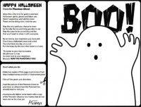Halloween Treat Phantom Ghost Printable