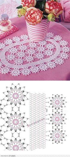 Learn to knit and Crochet with Jeanette: Crochet Doilies Crochet Bedspread Pattern, Crochet Doily Patterns, Granny Square Crochet Pattern, Crochet Art, Crochet Diagram, Crochet Home, Thread Crochet, Filet Crochet, Irish Crochet