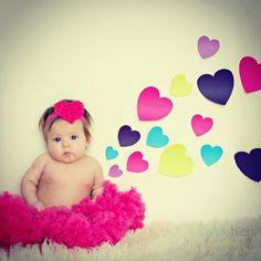 Baby's First Valentine's Day Photo Idea