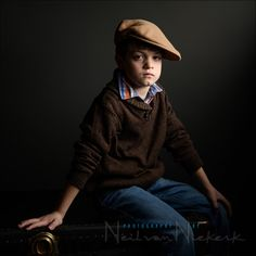 Dramatic portraits of kids - Lighting and intent - Tangents