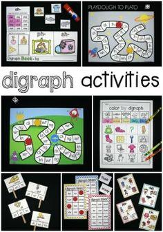 Tons of Fun Digraph Activities