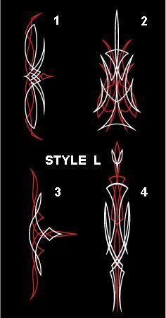 32 Best Pinstripe Design Chart Images Pinstriping Designs Pinstripe Pinstripe Art