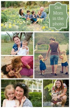 {Pictures with Mom} Surefire ways to make sure Mom actually shows up IN the photos