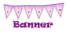 Free Printable Custom Banner | Alice and Wonderland Inspired