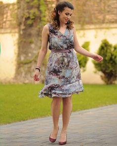 """Rochie de mătase """"Lily was here"""" - Colors Of Love City Outfits, City Vibe, Love Affair, Special Occasion, Fresh, Summer Dresses, Boho, Pretty, Collection"""