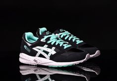 Asics Gel Saga   Black / Mint