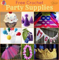 Free Crochet Party S