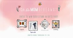 Enter to win a curated collection of gifts worth over $1500 for Mom, from Clare V., Splendid, Parachute, and Seedling!
