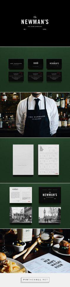 The Newman's - Eat, Dine & Whisky Resturant Branding