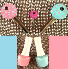 Using nail-polish, paint your keys to give them a spark. If you want polka dots, you can use the tip of a bobby pin.