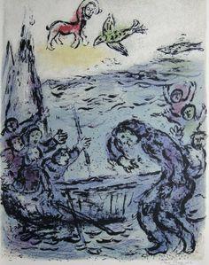 "Marc Chagall Lithographs | Marc Chagall, original Lithograph ""L'Odyssee"" : Lot 31"