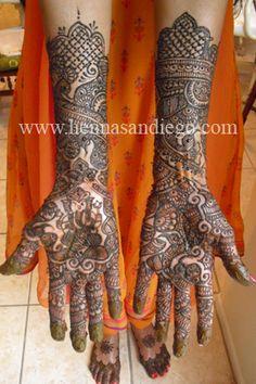 Bridal Mehendi for hands
