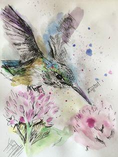 Preparing For Divorce, Love Drawings, Watercolor Tattoo, Bird, Birds, Temp Tattoo