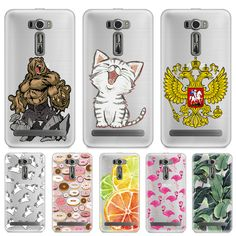 5.0 inch Soft TPU Case FOR Asus Zenfone 2 laser ZE500KL ZE500KG Case Cover Silicone Printing Back FOR Asus Zenfone 2 laser Case