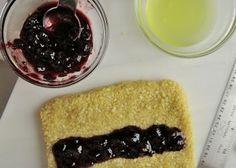 Making Biscotti di Ceglie - Italian almond and cherry cookies