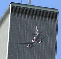 World Trade Center - North Tower Hit