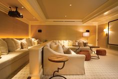 Decorating your basement media room needs some planning to create the ... Home décor-savvy movie fans everywhere have decided to take ...