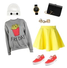 6c49aaec4a Fry day chill by grungyrtronerd on Polyvore featuring polyvore