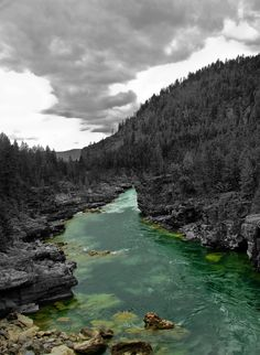 Kootenai county river