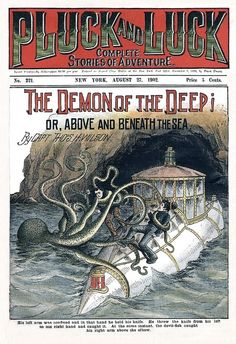 1902 - The Demon Of The Deep! by clotho98, via Flickr