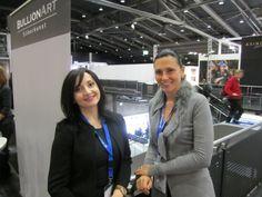 Liana Shahinian von der Manex Resource Group und Simone Korhonen von IRW-Press