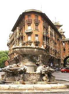 Fontana delle Rane, Rom