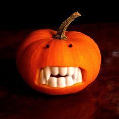 Fanged Pumpkins Tutorial