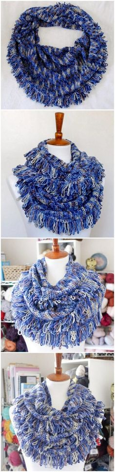 You will love this charming and textured chunky scarf pattern perfect for girls…. You will love this charming and textured chunky scarf pattern perfect for. Crochet Cowl Free Pattern, Easy Crochet, Free Crochet, Crochet Patterns, Scarf Patterns, Crochet Ideas, Crochet Projects, Crochet Scarf For Beginners, Owl Scarf