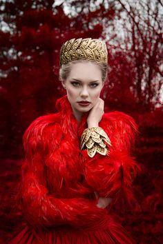 """Rougé"" — Dark Beauty Mag Photographer: Richard Powazynski"