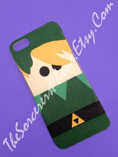 HECHO A MANO... Mod Podge Link Zelda Nintendo por TheSorcerersPhone, $23.99