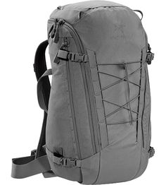 I'm officially in love with Arc'teryx Khard backpack (when you remove the bungee cord). Smooth design and unique system that allows you to get to any part of the main compartment and also open the whole backpack. Will buy it ASAP.