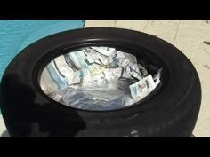 the solar tire cooker :)