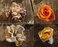 Kwiaty-Broszki
