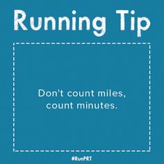 Don't be intimidated by a #workout plan. It's more important for you to focus on how you feel than how far you've gone. #RunningTips  #tip #running
