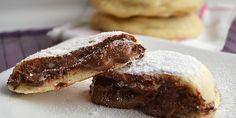 Focaccine alla nutella, pronte in 8 minuti senza usare il forno