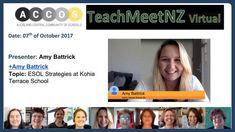 TeachMeetNZ - Battrick_Amy Video Link, Amy, Presentation, Learning, School, Studying, Teaching, Onderwijs