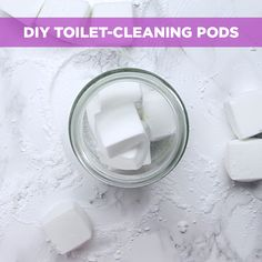 Drop these cleaning pods in your toilet for a fresh, clean bathroom!