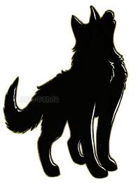 Bildergebnis für wolf tattoo Silhouetten