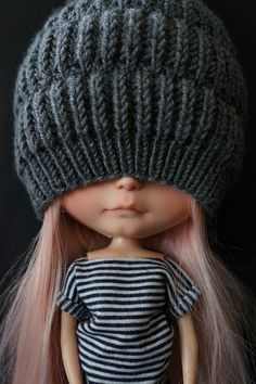 Fraise des Bois got a great hat today! by Mimsy bear on Flickr.