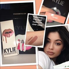 "NEW Exposed Kylie Lip Kit Brand new, Kylie Jenner Lip Kit in Exposed. This is the latest color in the Kylie Cosmetics collection, with Kylie herself describing it as ""The best nude I've ever used"". Kylie Cosmetics Makeup Lipstick"