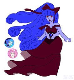Lapis Lazuli/Rose Quartz fusion