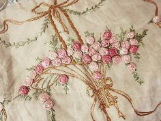 Vintage Embroidered Linen